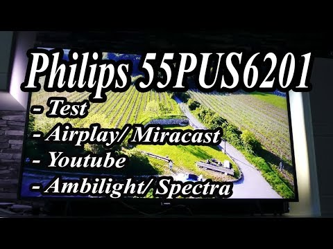 PHILIPS 55PUS6201/12 4K, Ambilight 2, Spectra 2, Smart TV, test
