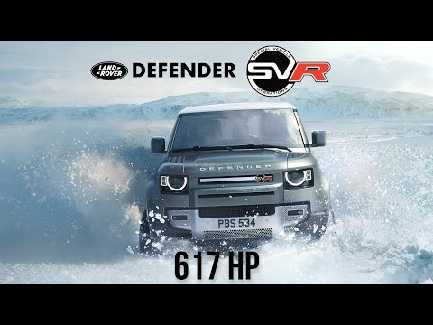 The 2023 Land Rover Defender SVR Gets The Same Engine As The BMW M8 Competition