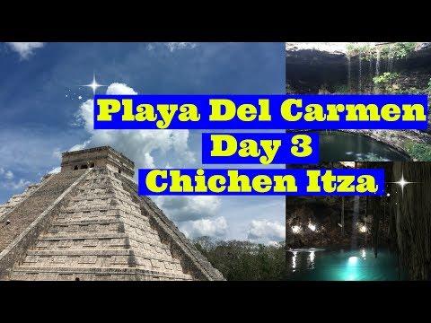 Chichen Itza Tour! Playa Del Carmen Vlog Day 3