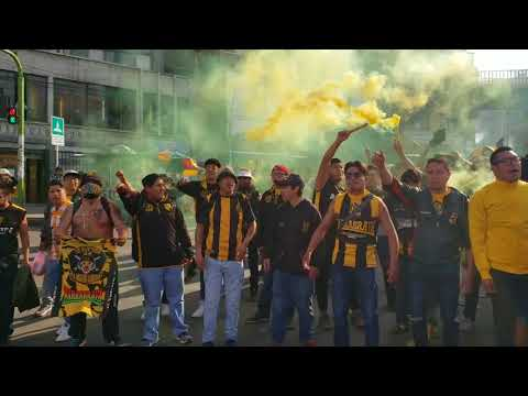 """The Strongest 0-1 ""B""olívar (CARAVANA-PREVIA-RECIBIMIENTO)"" Barra: La Gloriosa Ultra Sur 34 • Club: The Strongest"