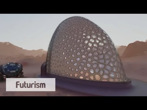 What Would Houses on Mars Look Like?
