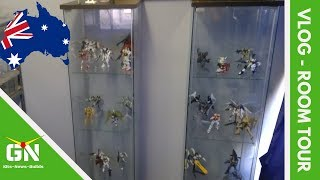 Mark's Gunpla Room Tour - Vlog