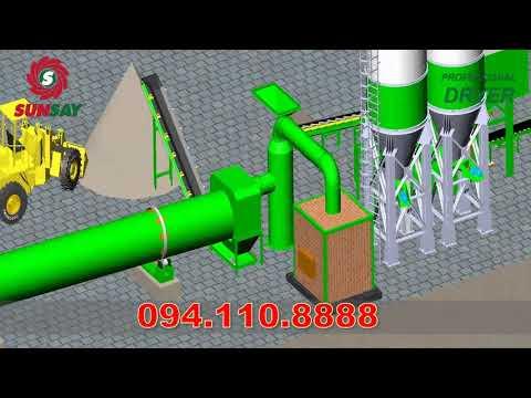 Thiết kế dây chuyền sản xuất vữa khô tự động