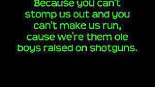 "Video thumbnail of ""Country Boy Can Survive - Hank Williams Jr. ( w/lyrics )"""