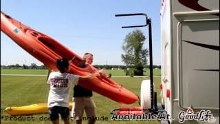 Vertiyak Kayak Rack For RVs And Campers