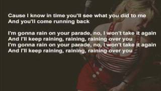 Duffy - Rain On Your Parade ( instrumental / kareoke / lyrics )