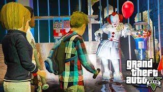 ПЕННИВАЙЗ КЛОУН ОНО ПОХИТИЛ ДЕТЕЙ В ГТА 5 МОДЫ! ОБЗОР МОДА В GTA 5 веселая видео игра как мультик