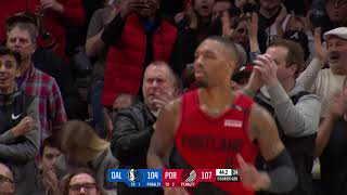 Dallas Mavericks Vs Portland Trail Blazers : December 23, 2018