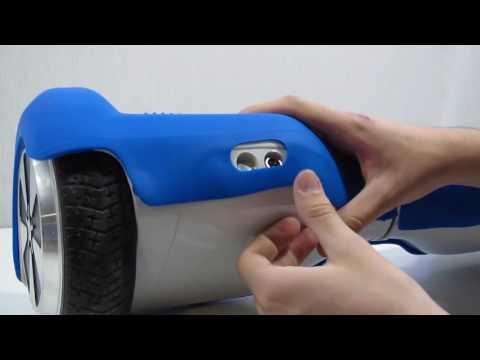Protección de silicona para patinete hoverboard autobalanceado