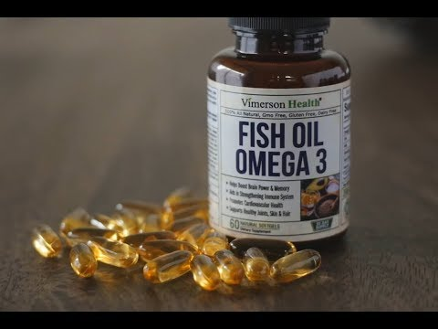 Omega 3 Fish Oil - Vimerson Health