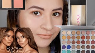 FULL FACE USING ONLY BEAUTY GURU'S COLLABS&BRANDS