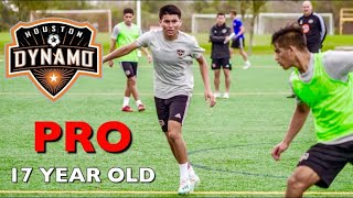 Signing My First Professional MLS Contract At 17!! | Daniel Rios