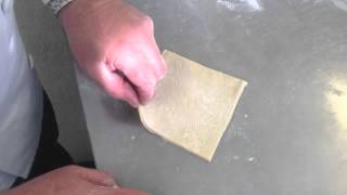 How To Cut Square Cut Danish Pastries