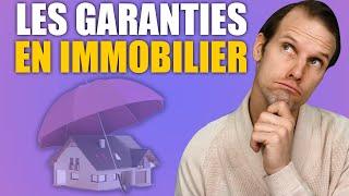 LA GARANTIE LÉGALE- Les différentes garanties en immobilier par Maxime Tardif agent immobilier
