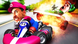 TOO MUCH GOO | Mario Kart w/ Ethan - Part 1