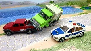 Мультики про машинки - видео для детей с игрушками Плеймобил про полицейскую машинку - Не виноват!