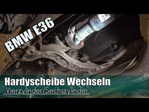 BMW E36 Hardyscheibe Wechseln .... Vierzylinder/Sechszylinder