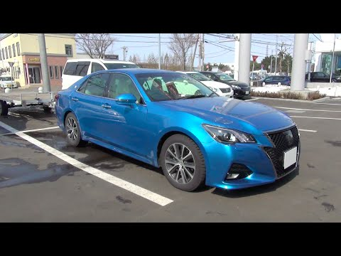2016 TOYOTA CROWN Athlete 2.0 G-T - Exterior & Interior