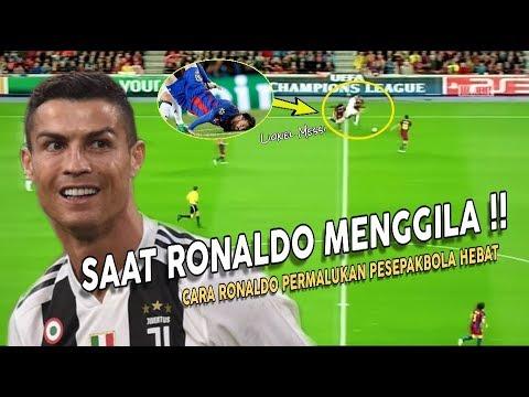 JANGAN DIINGAT ⚠️ LIHAT‼️Saat Ronaldo Meng-Gila dan Permalukan Para Pesepakbola Hebat