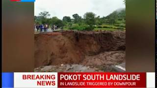 BREAKING NEWS: 12 people dead in Pokot South following a landslide triggered by heavy downpour