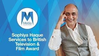 Art Malik - Services to British Television & Film Award - Asian Media Awards 2016