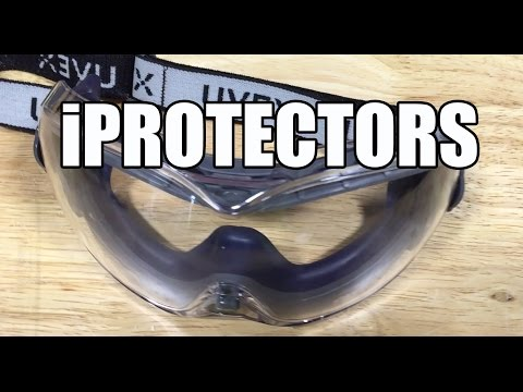 Uvex S3970DF Stealth OTG Safety Goggles