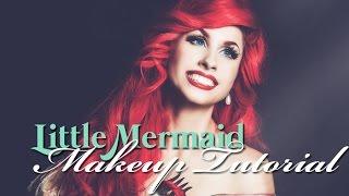 Disneys Little Mermaid - ARIEL MAKEUP TUTORIAL - Traci Hines