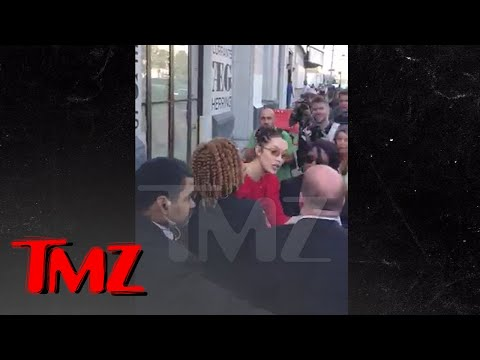 Bella Hadid Roughs Up Security Roughing Up Female Photog | TMZ