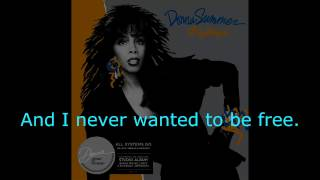 "Donna Summer - Only the Fool Survives (LP Version) LYRICS SHM ""All Systems Go"" 1987"