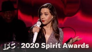 Aubrey Plazas Opening Monologue  | 2020 Spirit Awards