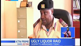 Liquor raid goes wrong as gang attacks police officers