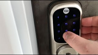 Yale Assure Touchscreen Smart Lock blogger review