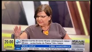 Izabela Leszczyna miażdży Patryka Jakiego i punktuje z braku wiedzy o edukacji oraz seksualności.