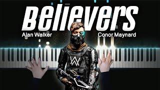 Alan Walker x Conor Maynard - Believers   Piano Cover by Pianella Piano