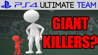 RETURN OF THE GIANT KILLERS?? - Madden 15 Ultimate Team | MUT 15 PS4 Gameplay