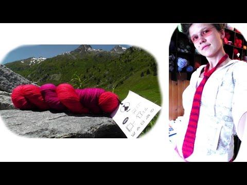 Krawatte Strickanleitung für Anfänger - Woolpedia