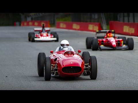 Ferrari 312 B3, 412 T1, 993 GT2, 512 BBLM, F1-643, and Jacky Ickx - Modena Trackdays Zolder 2019