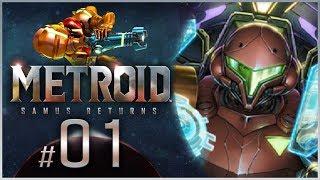 Metroid:SamusReturns-Part1 EXPLORINGSR388![Nintendo3DSGameplay]