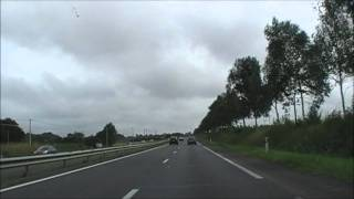 preview picture of video 'Driving On The N12 Between Kertédevant & Saint-Brieuc - Armor Airport, Brittany, France'
