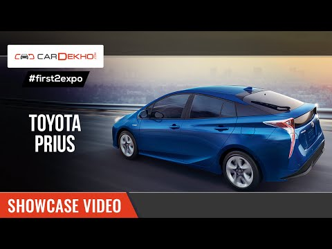 #first2expo | 2016 Toyota Prius | Launch Video @AutoExpo2016