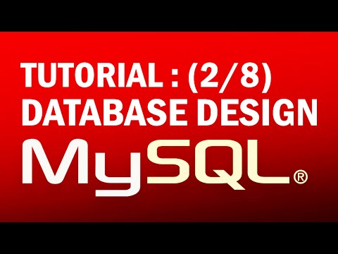 mysql tutorial for beginners (2/8) : Database Design