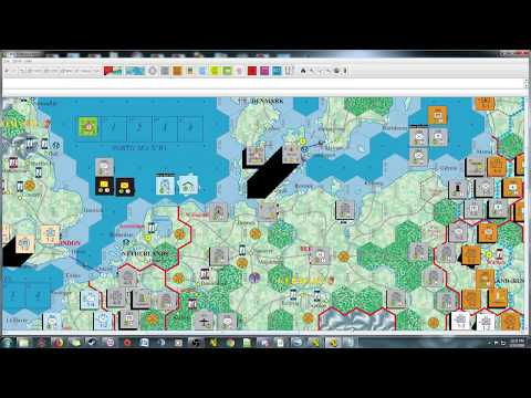 Fatal Alliances - Turn 1 Impulse 6 - Perfidious Albion and a Baltic Clash
