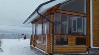Мягкие окна. Веранда закрытая мягкими окнами ПВХ 700 мкрн - Дмитровский район