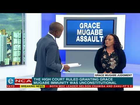 Debbie Engels 'elated' over Grace Mugabe ruling
