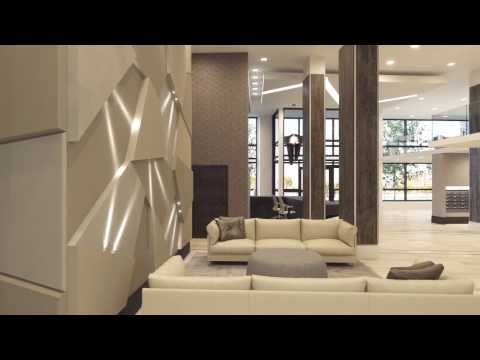 Modera Midtown Lobby Walkthrough