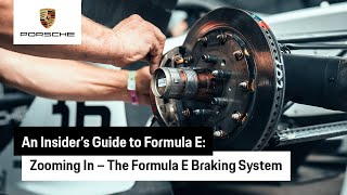 Zooming In: Stopping Power - The Formula E Braking System