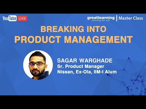 Breaking into Product Management | Great Learning - YouTube