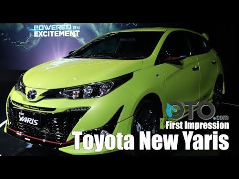 First impression Toyota New Yaris 2018 I OTO.Com