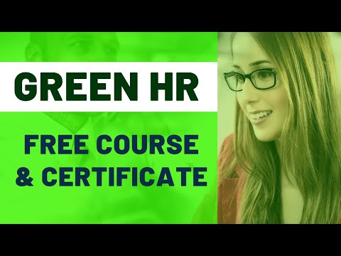 Free Human Resource Online Course with Certificate | Green HRM