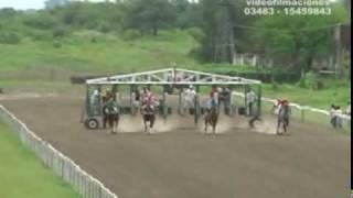 preview picture of video '3° Carrera-Hipodromo LA ILUSION-Domingo 14 de febrero de 2010'